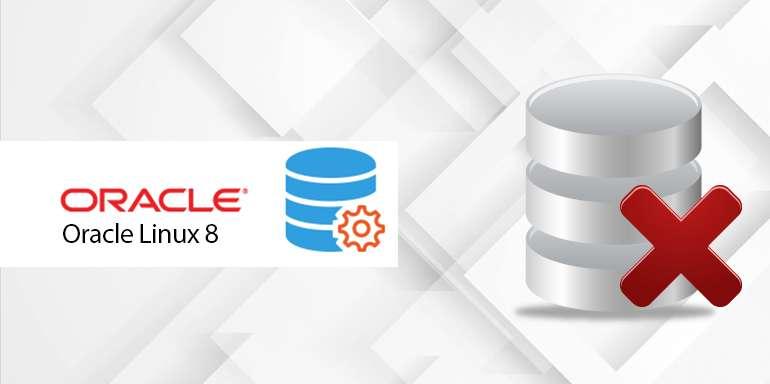 Oracle linux 8 Error